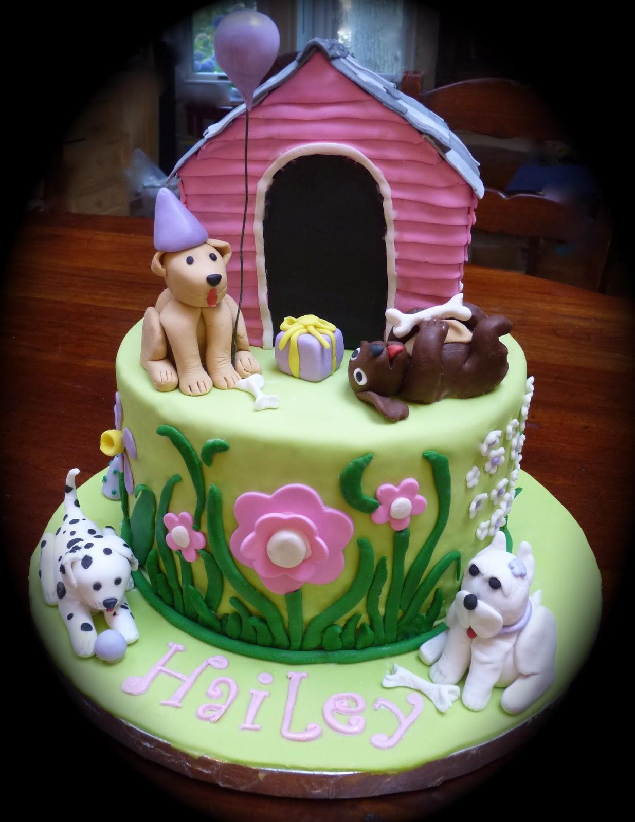 Pleasing Puppy Cakes Decoration Ideas Little Birthday Cakes Funny Birthday Cards Online Chimdamsfinfo