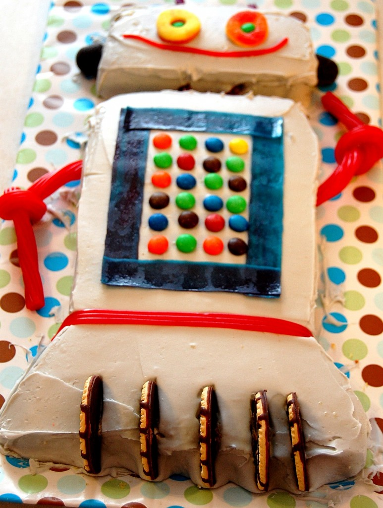 Robot Cake Ideas