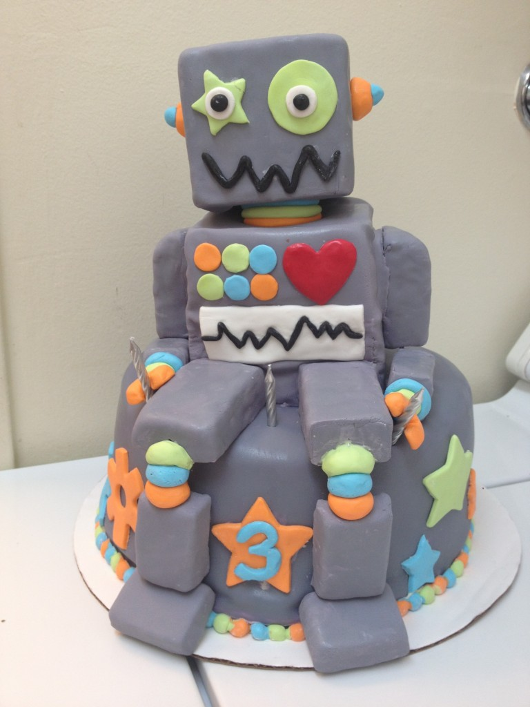 Robot Cake Images