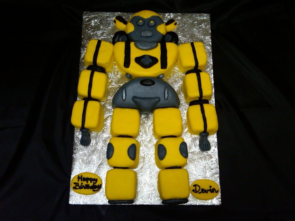 Robot Cakes Images