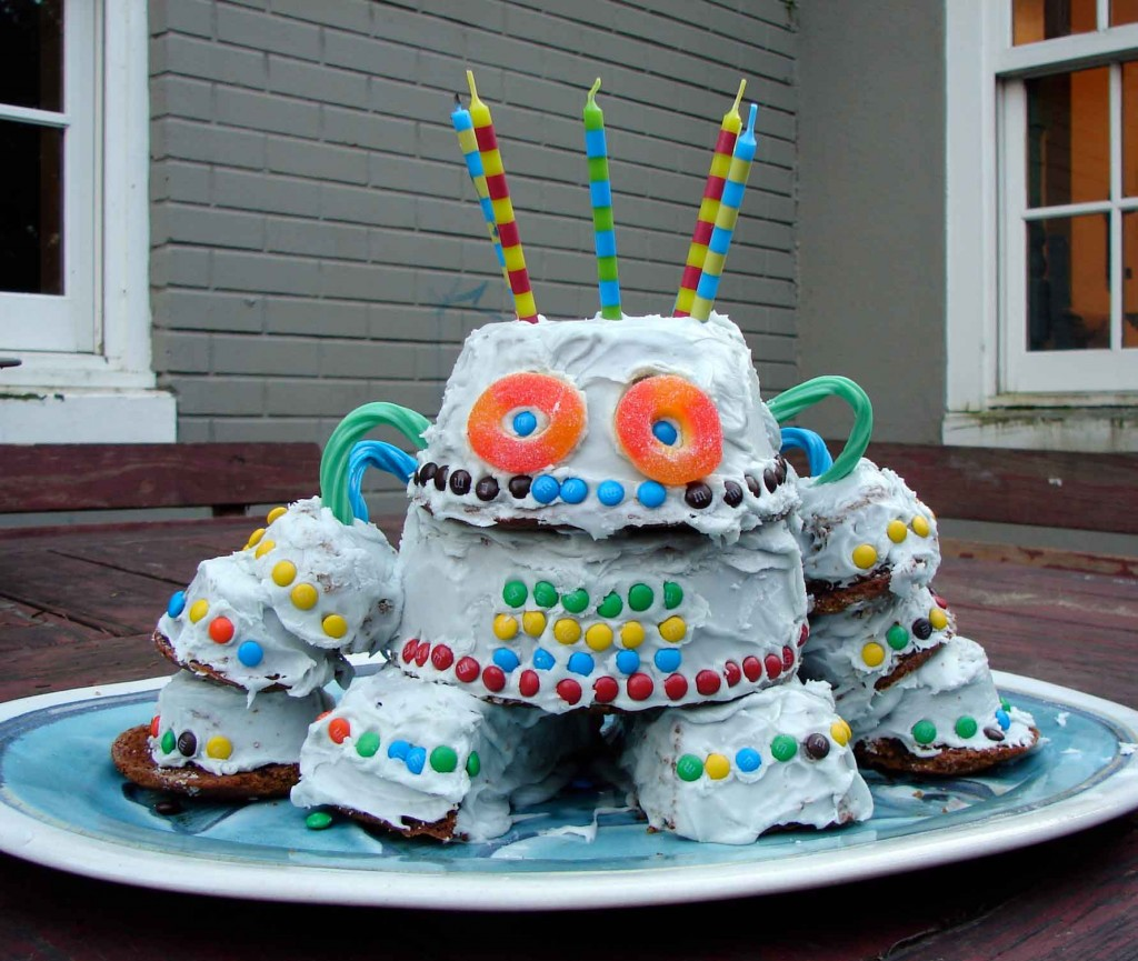 Robot Cakes Pictures