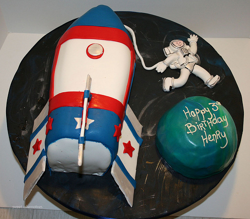 Rocket Ship Cakes Images