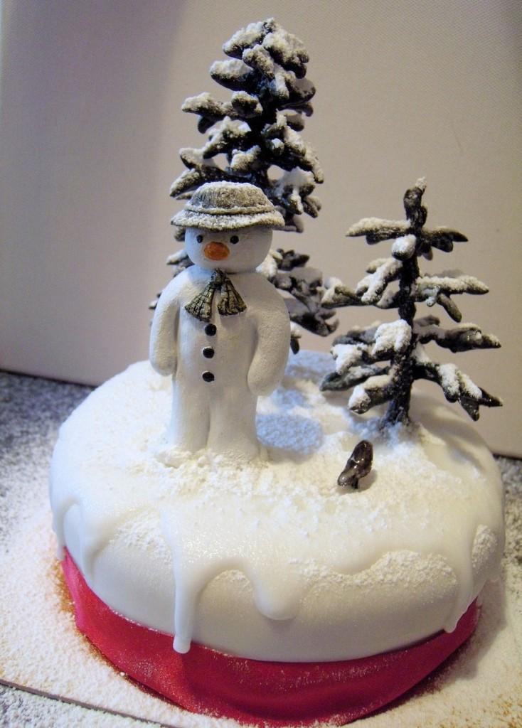 Snowman Cake Designs