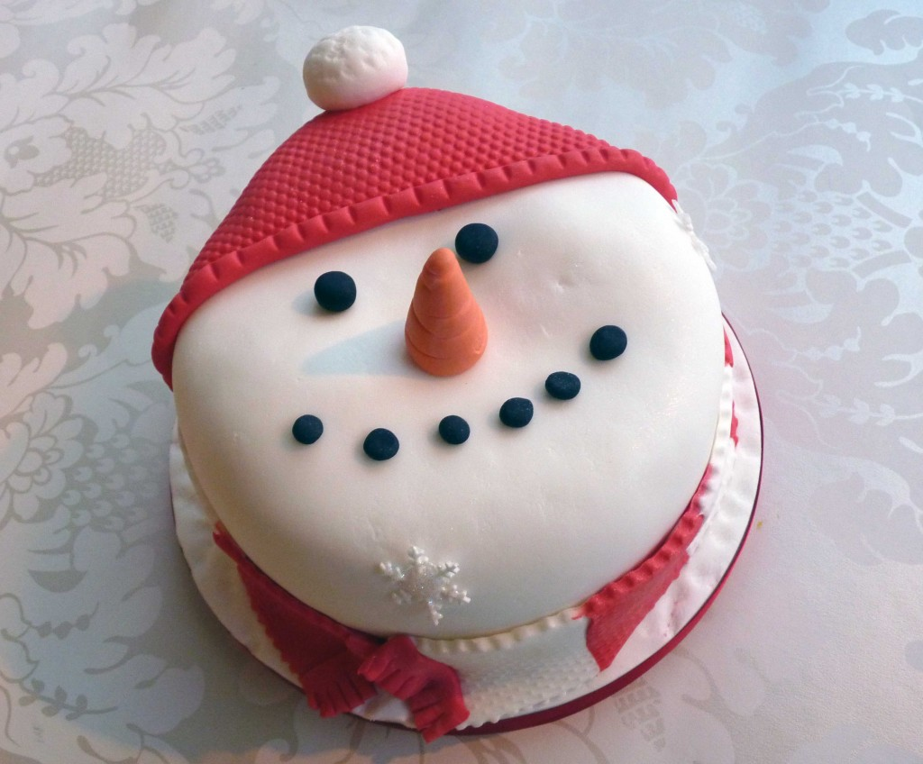 Snowman Cakes