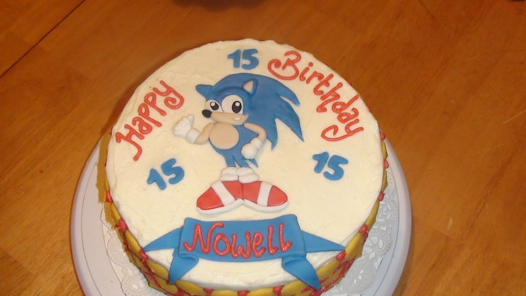 Sonic Cake Pictures
