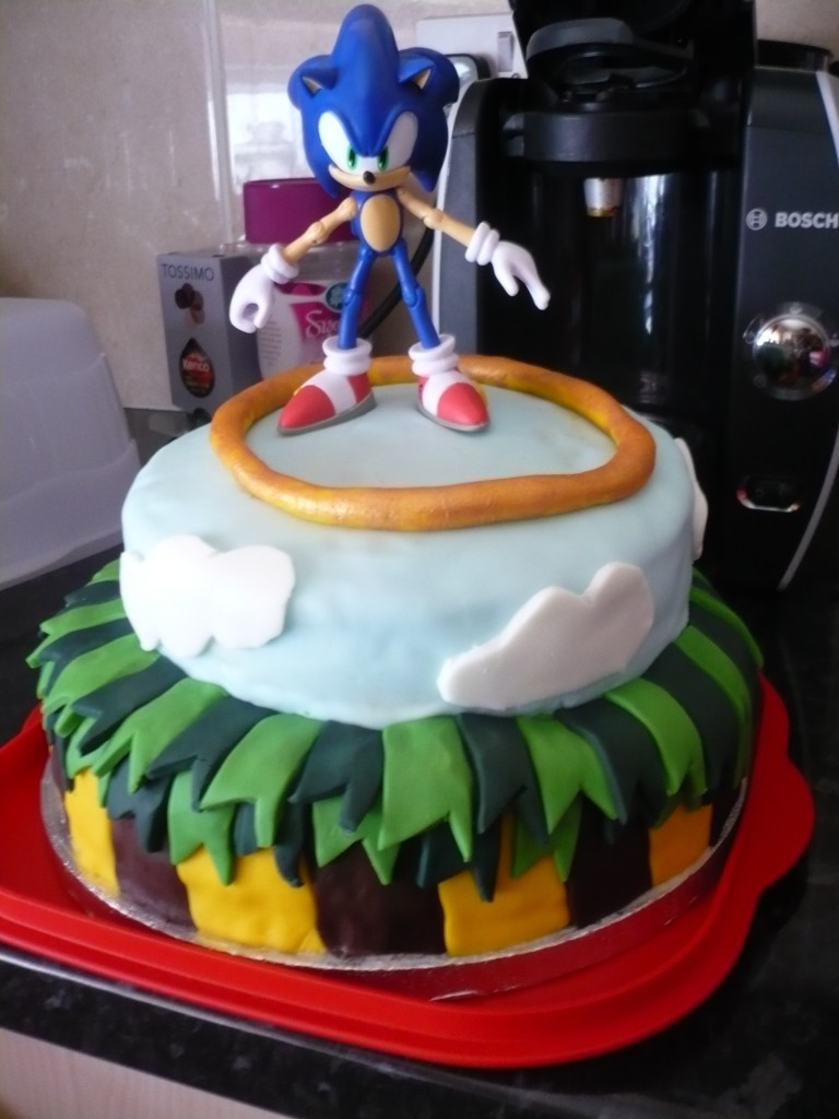 Sonic Cakes Images