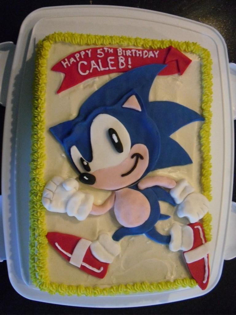 Sonic Cakes Photos