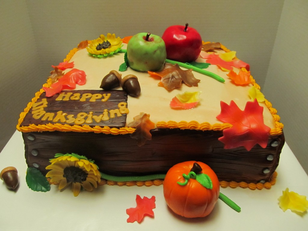 Thanksgiving Cake Pictures