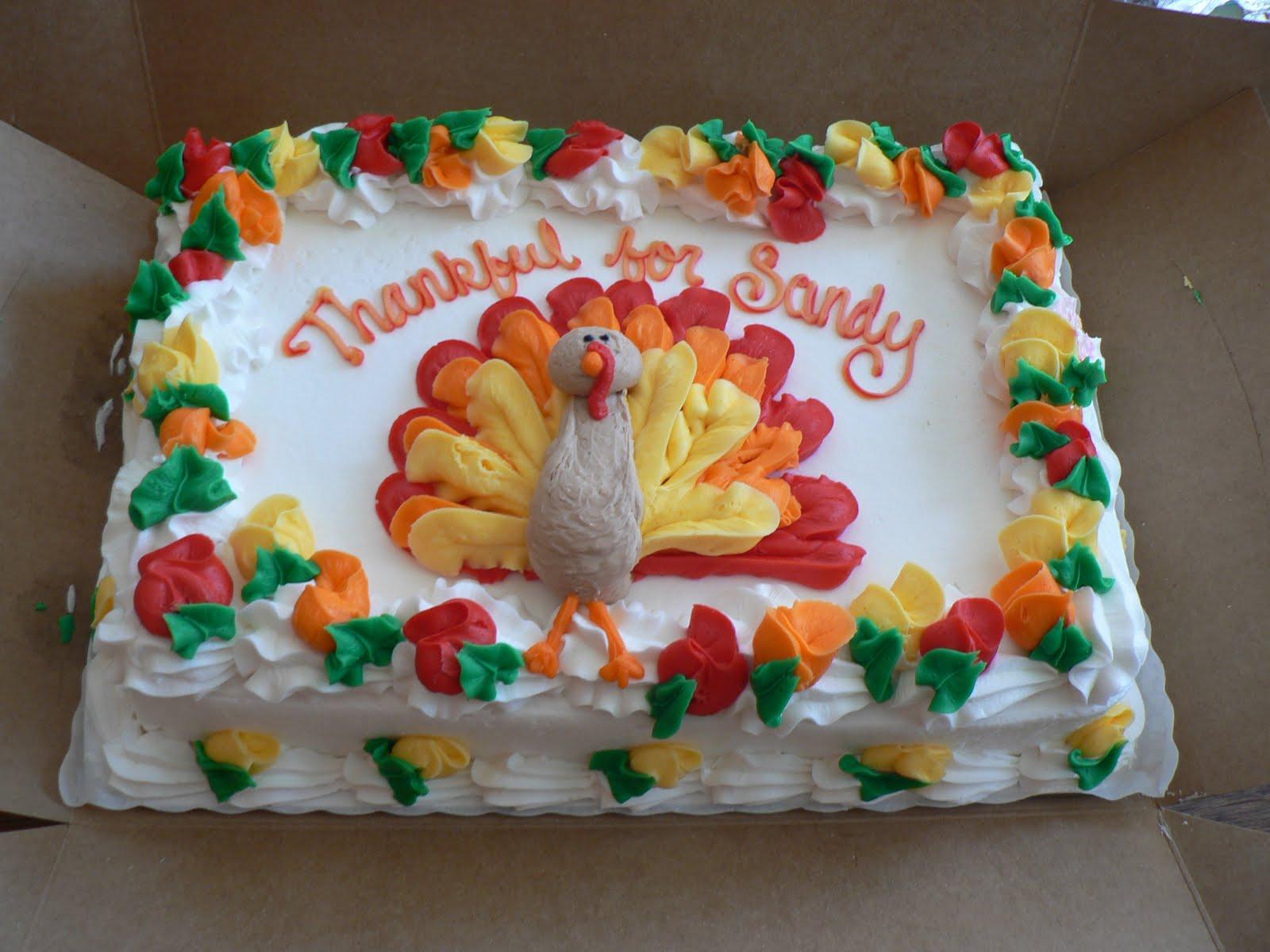 Thanksgiving Cakes \u2013 Decoration Ideas