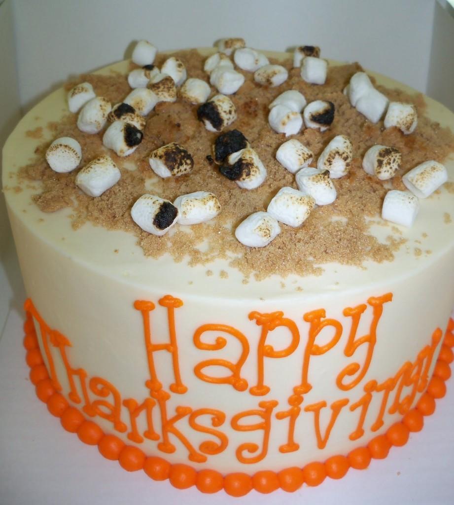 Thanksgiving Cakes Decorating