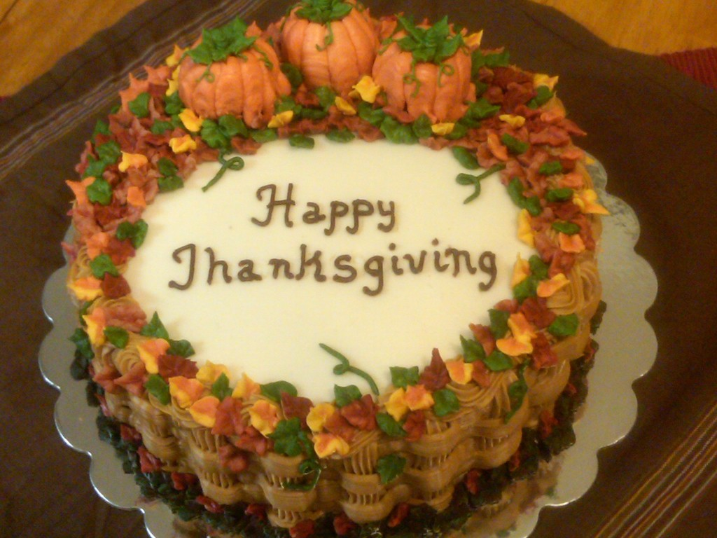 Thanksgiving Cakes Ideas