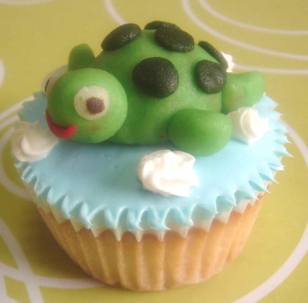 Turtle Cupcake Cakes