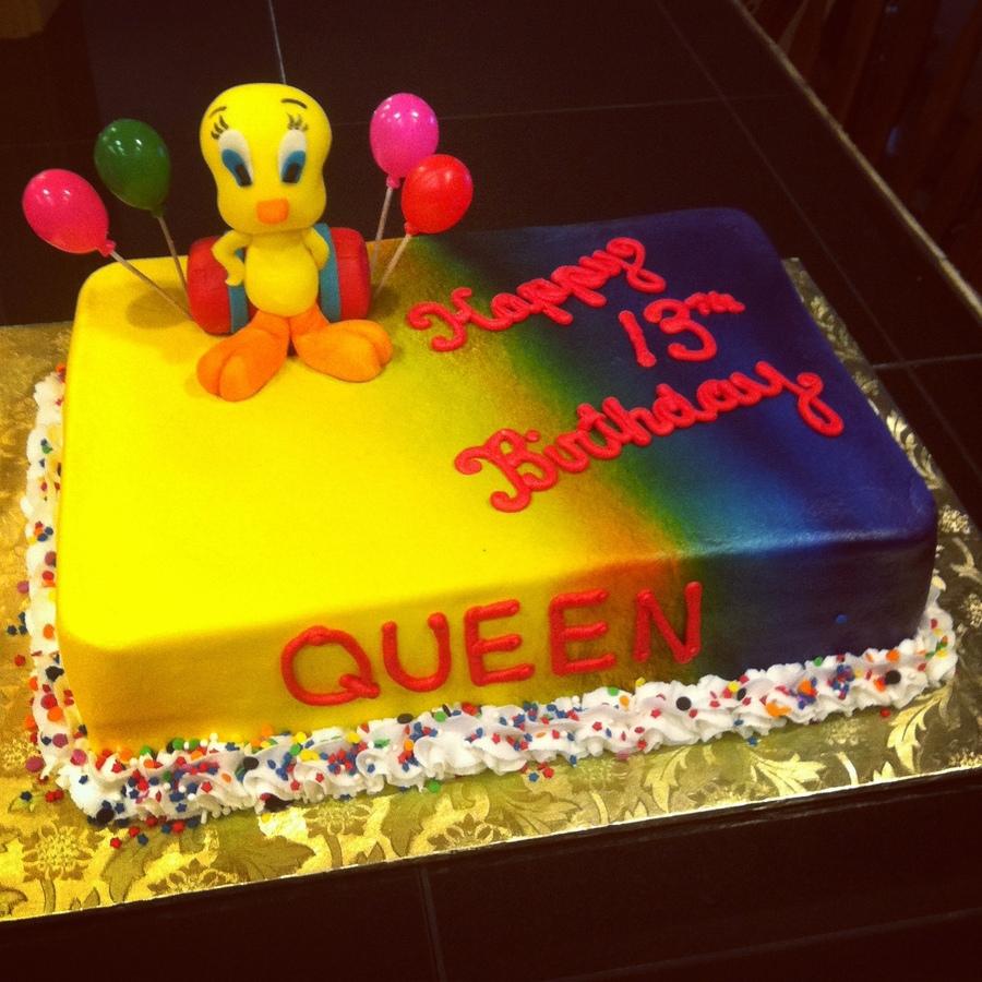 Tweety Bird Cake Ideas