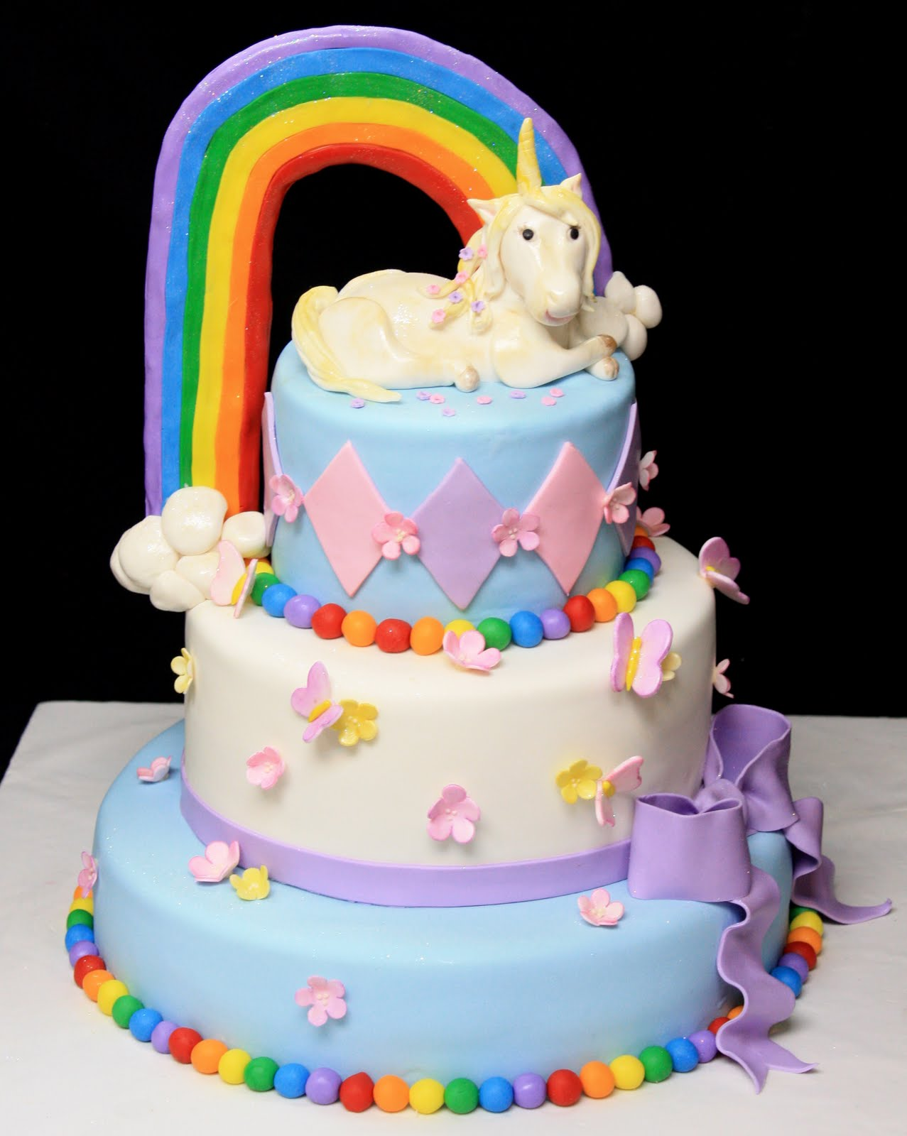 Enjoyable Unicorn Cakes Decoration Ideas Little Birthday Cakes Funny Birthday Cards Online Unhofree Goldxyz