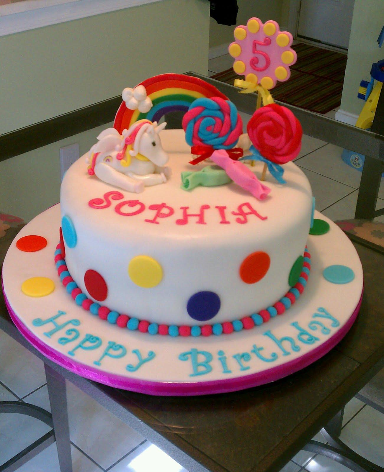 Girl Birthday Cakes Homemade