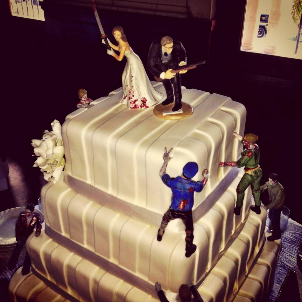 Wedding Zombie Cakes