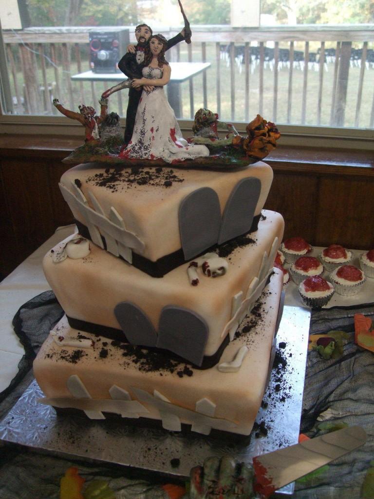 Zombie Wedding Cake Images