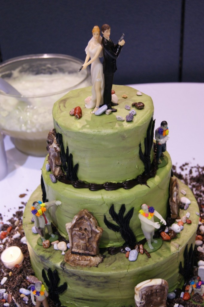 Zombie Wedding Cake Pictures