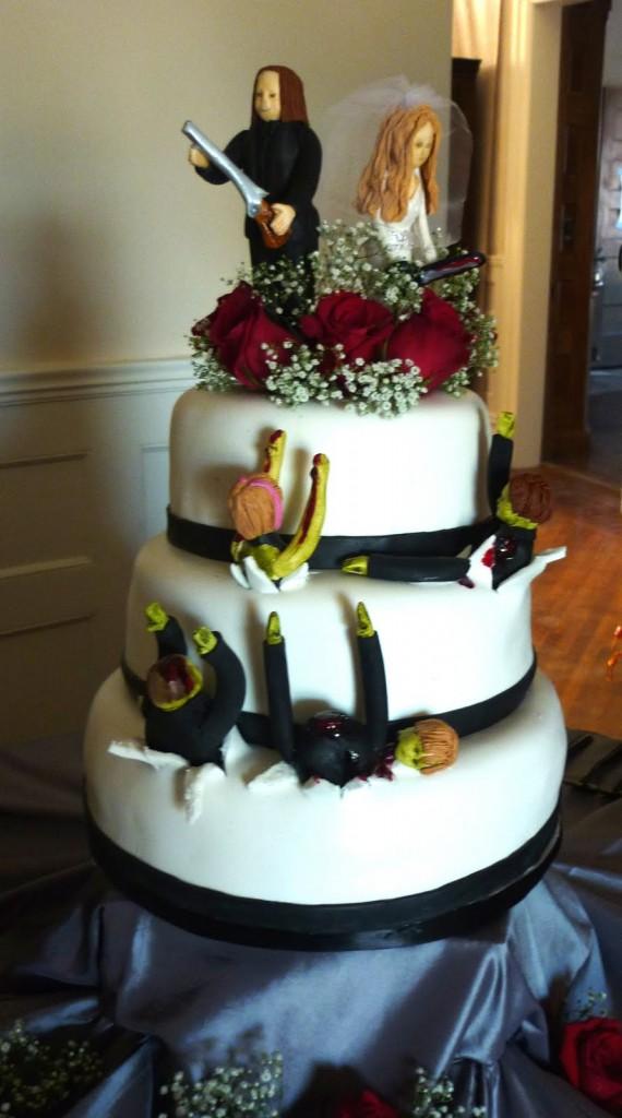 Zombie Wedding Cakes Images