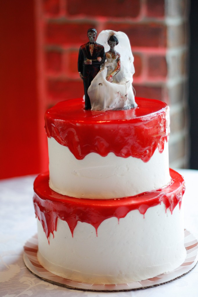 Zombie Wedding Cakes Photos