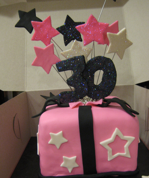 30th birthday cakes ideas