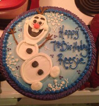 cookie cake birthday