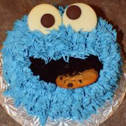 cookie cake monster
