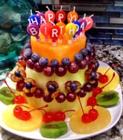 Miraculous Fruit Cakes Decoration Ideas Little Birthday Cakes Funny Birthday Cards Online Overcheapnameinfo
