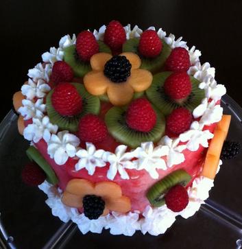 fruit cakes designs