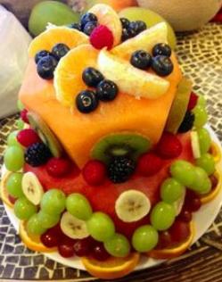 fruit cakes ideas