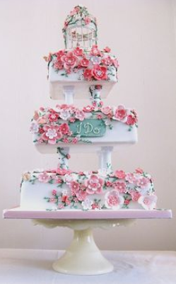 Fancy wedding cakes