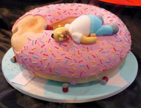 Homer amazing cake idea