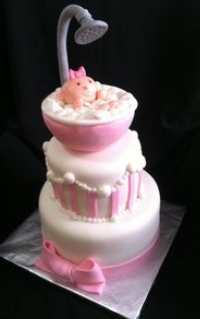 baby shower cakes for girls ideas