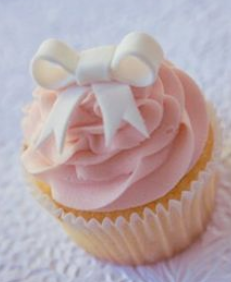 baby shower cup cakes for girls