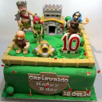 clash of clan cake