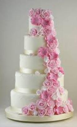 elegant cakes wedding ideas