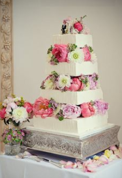 elegant wedding tower cakes