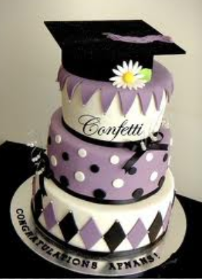 graduation girls cakes