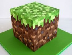 minecraft cake decorations