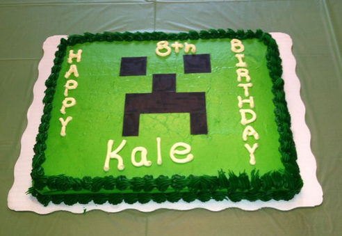 minecraft cakes ideas