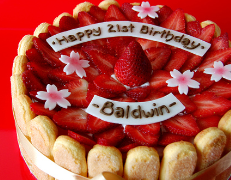 strawberry birthday cake ideas
