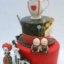 Alice in wonderland cake decorations