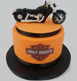 Harley Davidson cake decoration