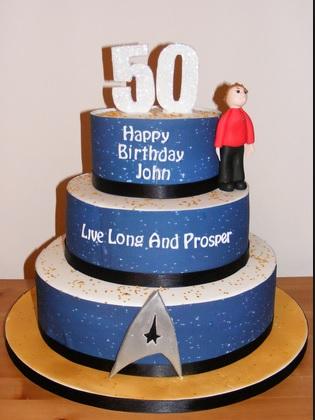 cakes star trek