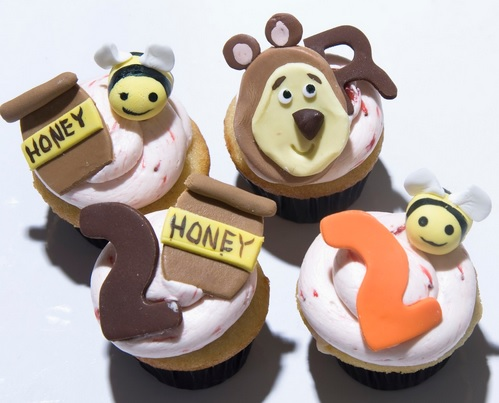 masha and the bear cupcakes