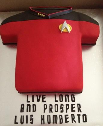 star trek cake decorations