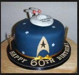 star trek cake ideas