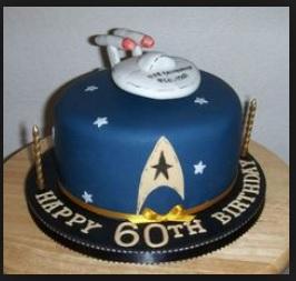 star trek cake ideas